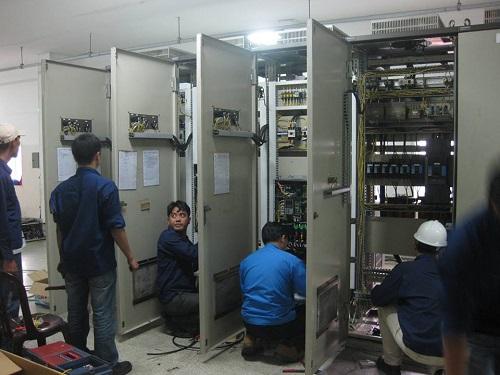 Thi công điện nhà xưởng, tủ điện công nghiệp tại tphcm