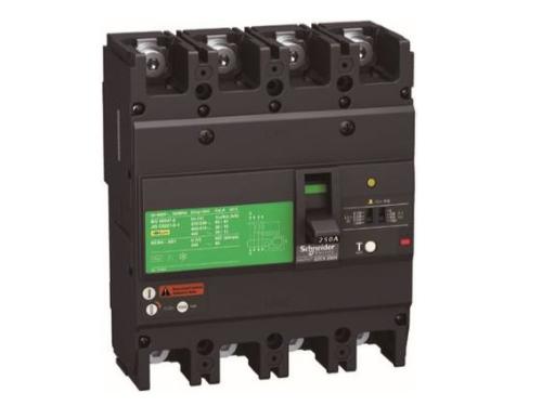 ELCB 4P EZCV250N4100 – Bảo vệ quá tải, ngắn mạch và chống rò 100A 25kA 415VAC 0.1-1A