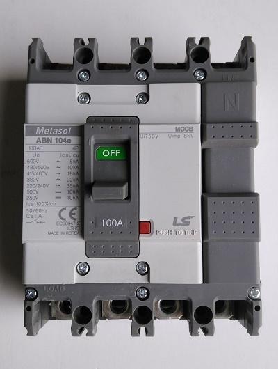 MCCB LS – ABN104c – 4P/15A/22kA