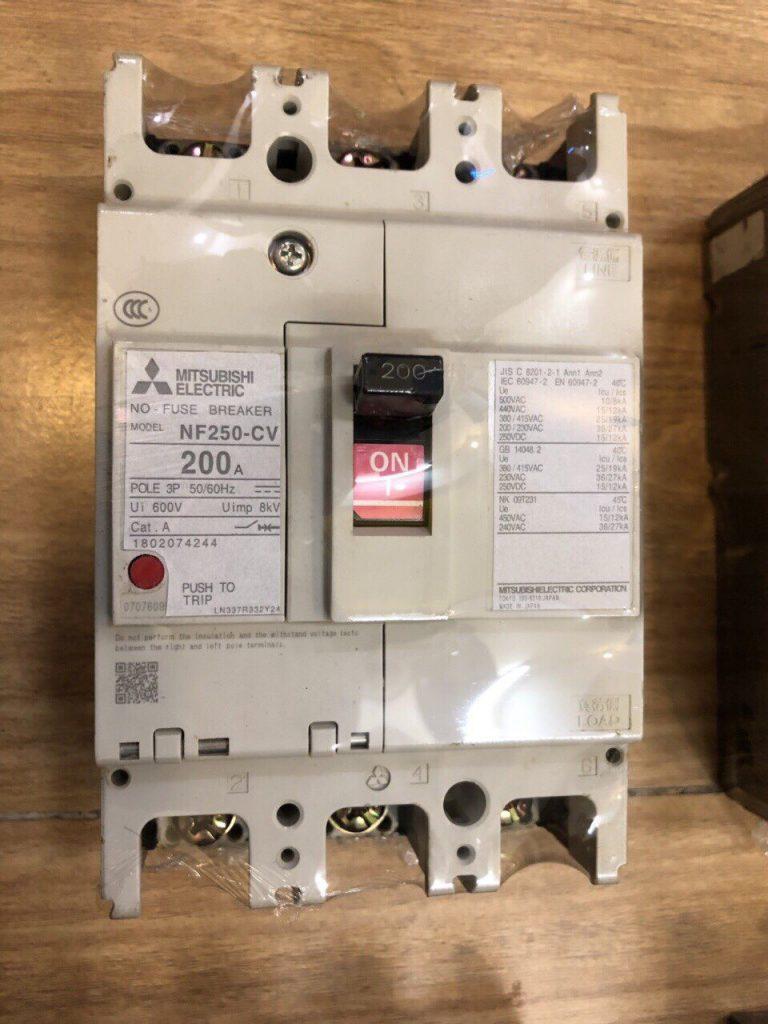 Aptomat (MCCB) Mitsubishi NF250-CV 3P 200A
