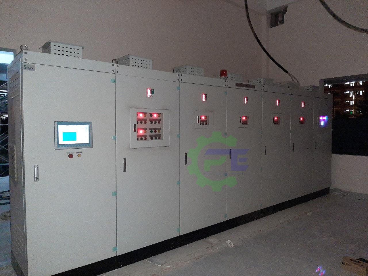 tủ modul lắp ghép